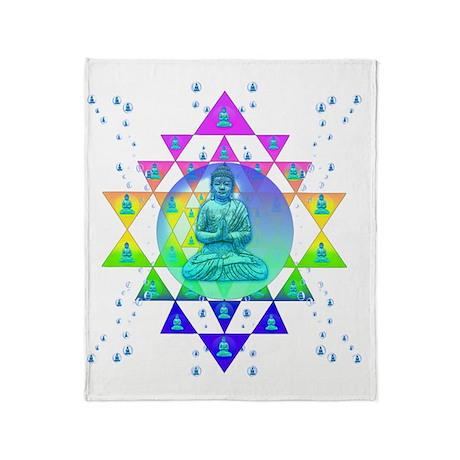 COSMIC_BUDDHA Throw Blanket