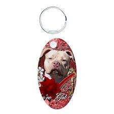 Valentine_Red_Rose_Pitbull_ Keychains