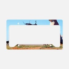 Prarie Dog Store License Plate Holder