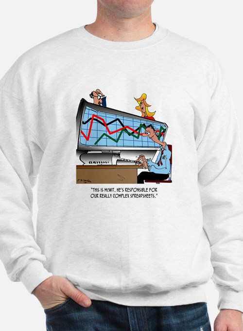 Really Complex Spreadsheets Sweatshirt