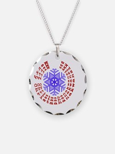 Christmahanakwanzika round Necklace