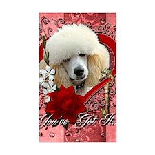 Valentine_Red_Rose_Poodle_Apri Decal