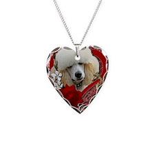 Valentine_Red_Rose_Poodle_Apr Necklace