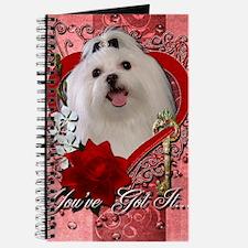 Valentine_Red_Rose_Maltese Journal