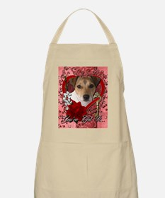 Valentine_Red_Rose_Jack_Russell Apron