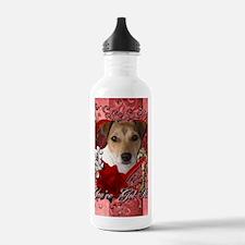 Valentine_Red_Rose_Jac Water Bottle