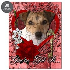 Valentine_Red_Rose_Jack_Russell Puzzle
