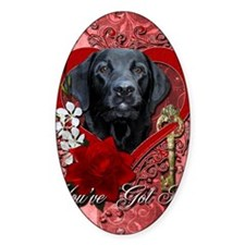 Valentine_Red_Rose_Labrador_Gage Decal