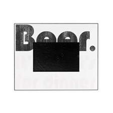 beerfordinner-bw Picture Frame
