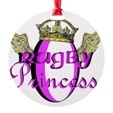 rugby princess Ornament