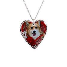 Valentine_Red_Rose_Corgi_Owen Necklace