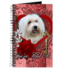 Valentine_Red_Rose_Coton_de_Tulear Journal