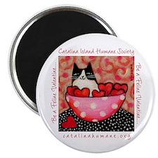 Be a Feline Valentine! Magnet