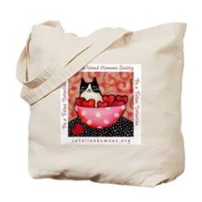 Be a Feline Valentine! Tote Bag