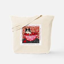 Be a Feline Valentine! Tote Bag