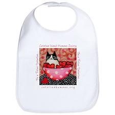 Be a Feline Valentine! Bib