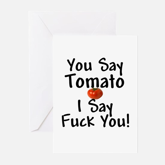 You Say Tomato... Greeting Cards (Pk of 10)