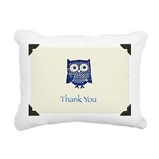 Owl Rectangular Canvas Pillow