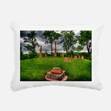 18x12stonehenge Rectangular Canvas Pillow