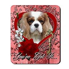 Valentine_Red_Rose_Cavalier_Lght Mousepad
