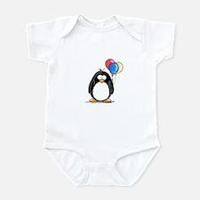 Primary Balloons Penguin Infant Bodysuit