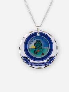 North Dakota Seal Necklace