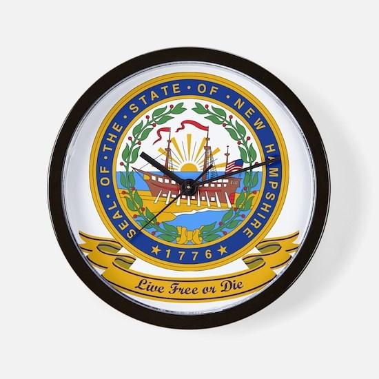 New Hampshire Seal Wall Clock