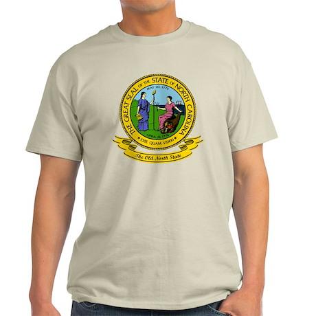 North Carolina Seal Light T-Shirt