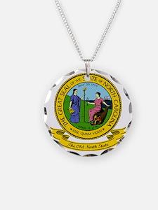 North Carolina Seal Necklace