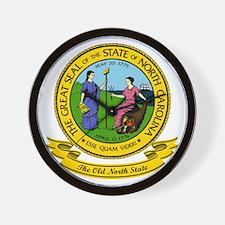 North Carolina Seal Wall Clock