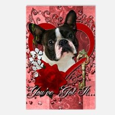 Valentine_Red_Rose_Boston Postcards (Package of 8)