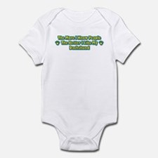 Like My Dachshund Infant Bodysuit