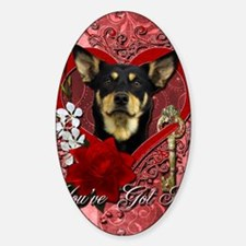 Valentine_Red_Rose_Australian_Kelpi Decal