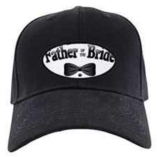 FatherBrideBowtie Baseball Hat
