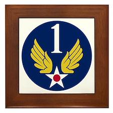 1st Air Force - WWII Framed Tile