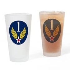 1st Air Force - WWII Drinking Glass