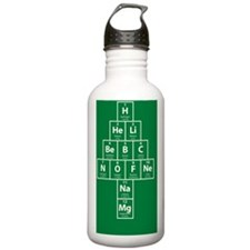 Periodic Table Christm Water Bottle