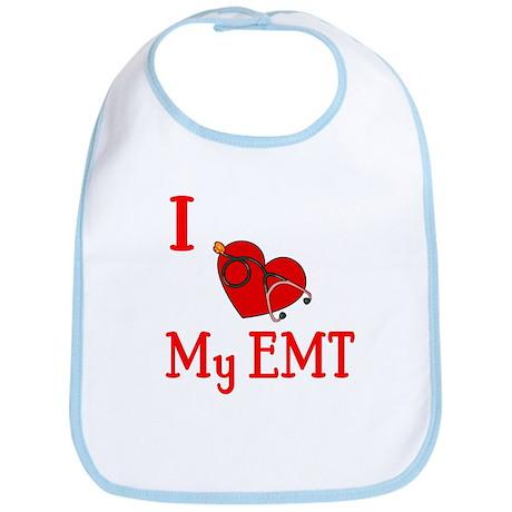 I Love My-EMT Bib