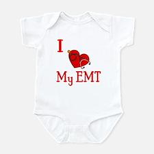 I Love My-EMT Infant Bodysuit