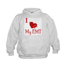 I Love My-EMT Hoodie