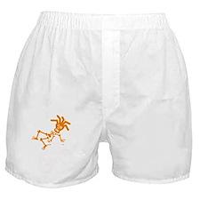 Eton orange white Boxer Shorts