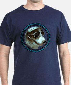Hunter S Gonzo Navy T-Shirt