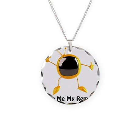 gmmr stadium blanket Necklace Circle Charm