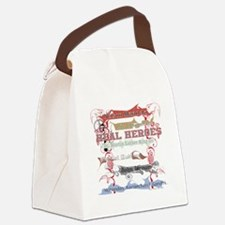 Real Heroes Canvas Lunch Bag