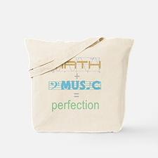 mathandmusic Tote Bag