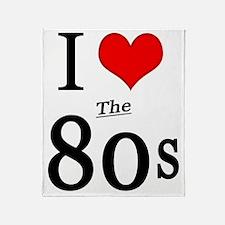 love 80s new 1 Throw Blanket