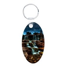 ip3g_waterfalls Keychains