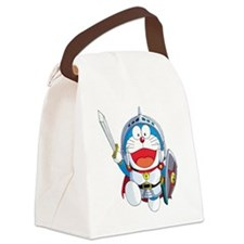 doraemon_in_shining_armor Canvas Lunch Bag