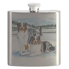 aussie winter blues Flask