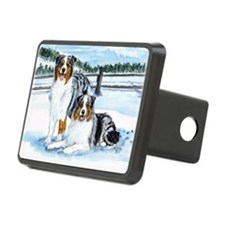 aussie winter blues Hitch Cover